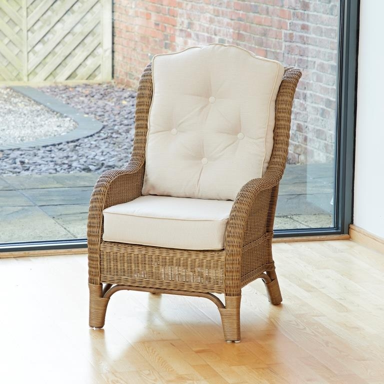 Conservatory Furniture Denver Wicker Reading Bedroom Chair