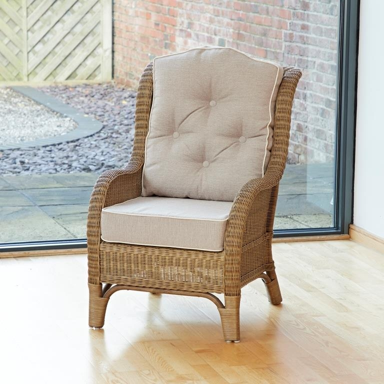 Wicker Sofa For Sale Uk: Conservatory Furniture Denver Wicker Reading Bedroom Chair