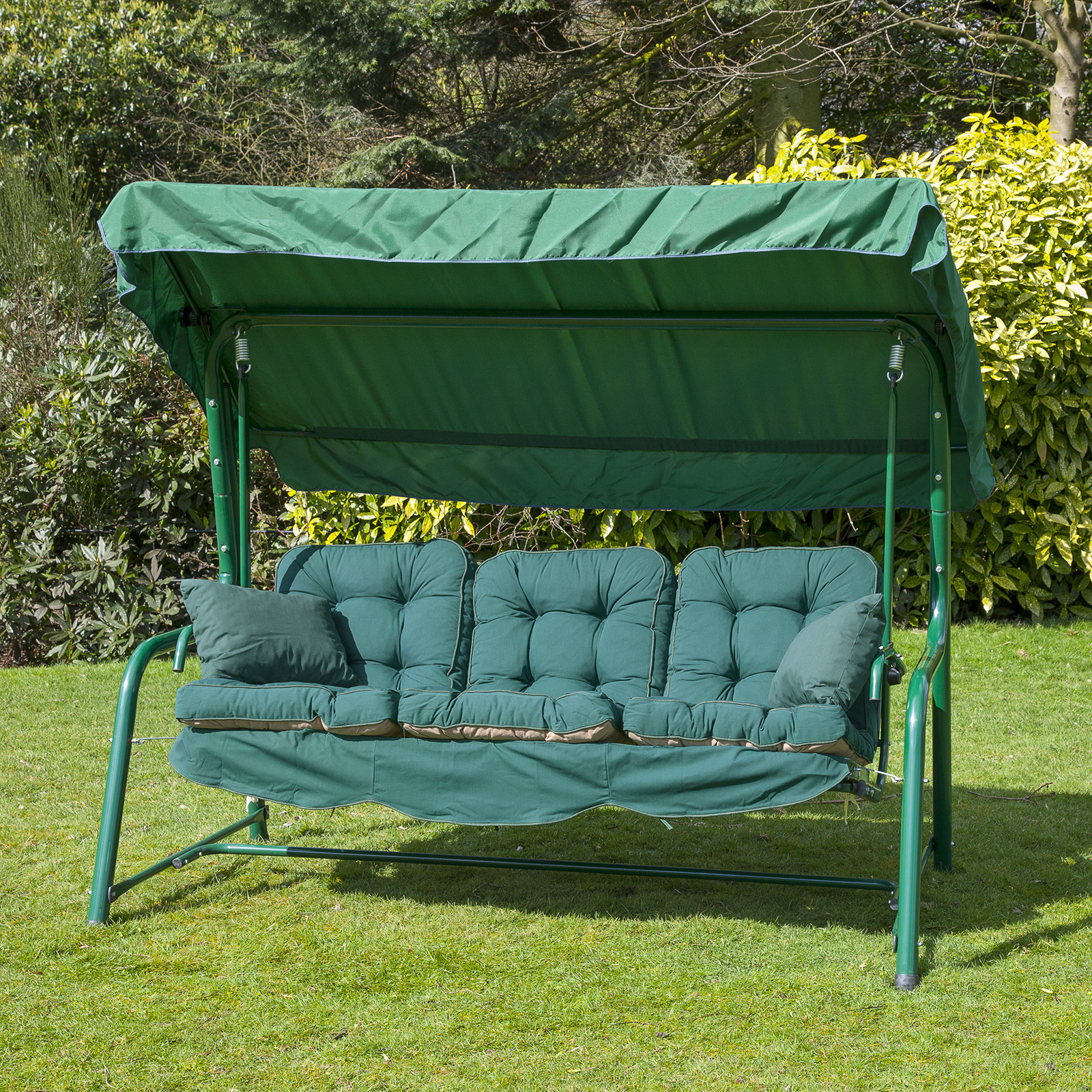 Alfresia Luxury Garden Swing Seat Cushions 3 Seater