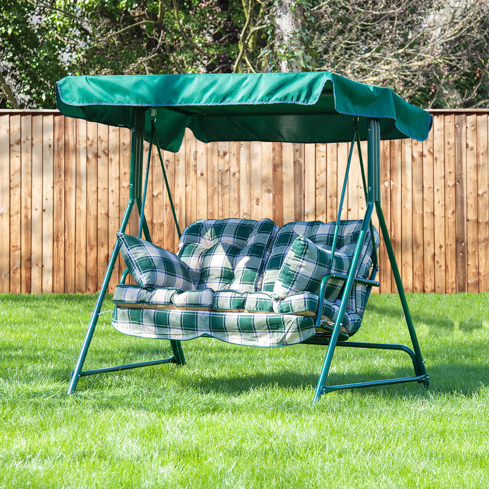 Alfresia Luxury Garden Swing Seat Cushions (2 Seater) | eBay