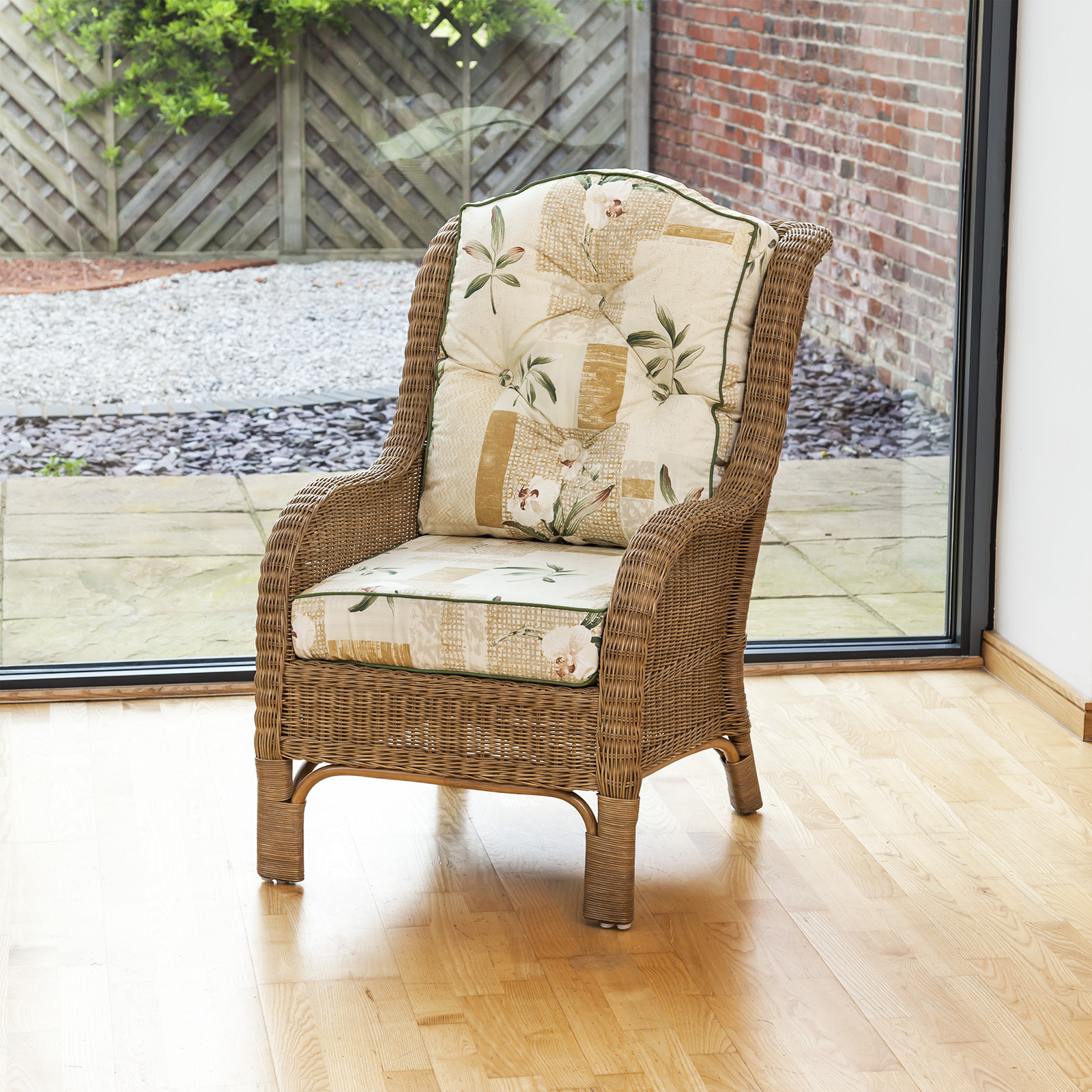 Bedroom Reading Chair Of Alfresia Conservatory Furniture Denver Wicker Reading