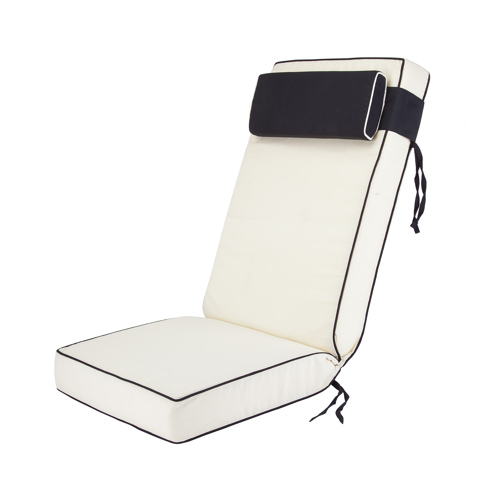 Luxury Garden Recliner Chair Cushion Choice Of Colours EBay