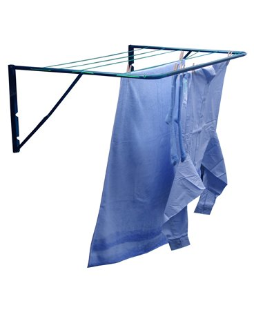 minky fence wall mounted outdoor clothes airer washing. Black Bedroom Furniture Sets. Home Design Ideas