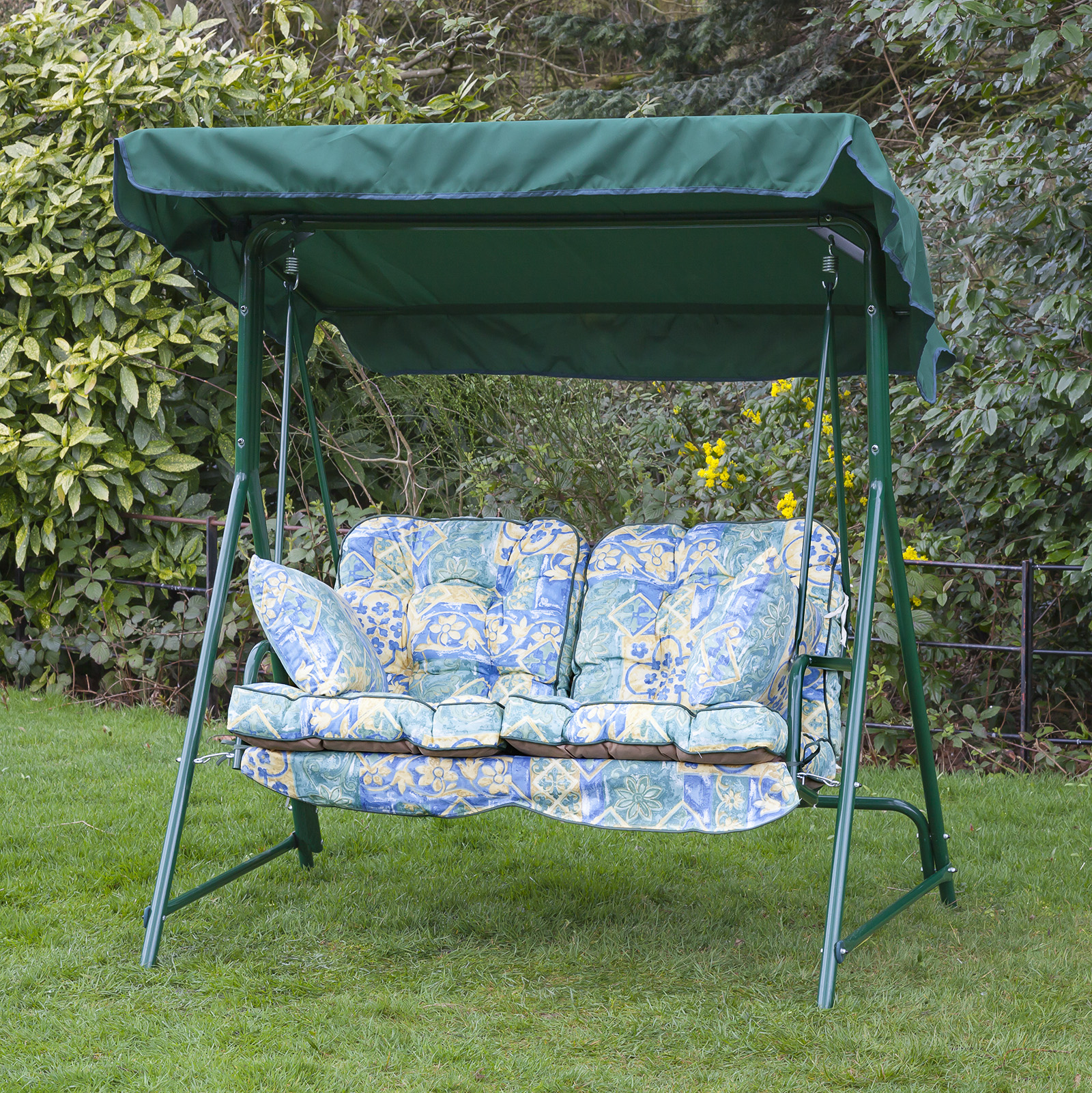 Garden 2 Seater Replacement Swing Seat Hammock Cushion Set ...