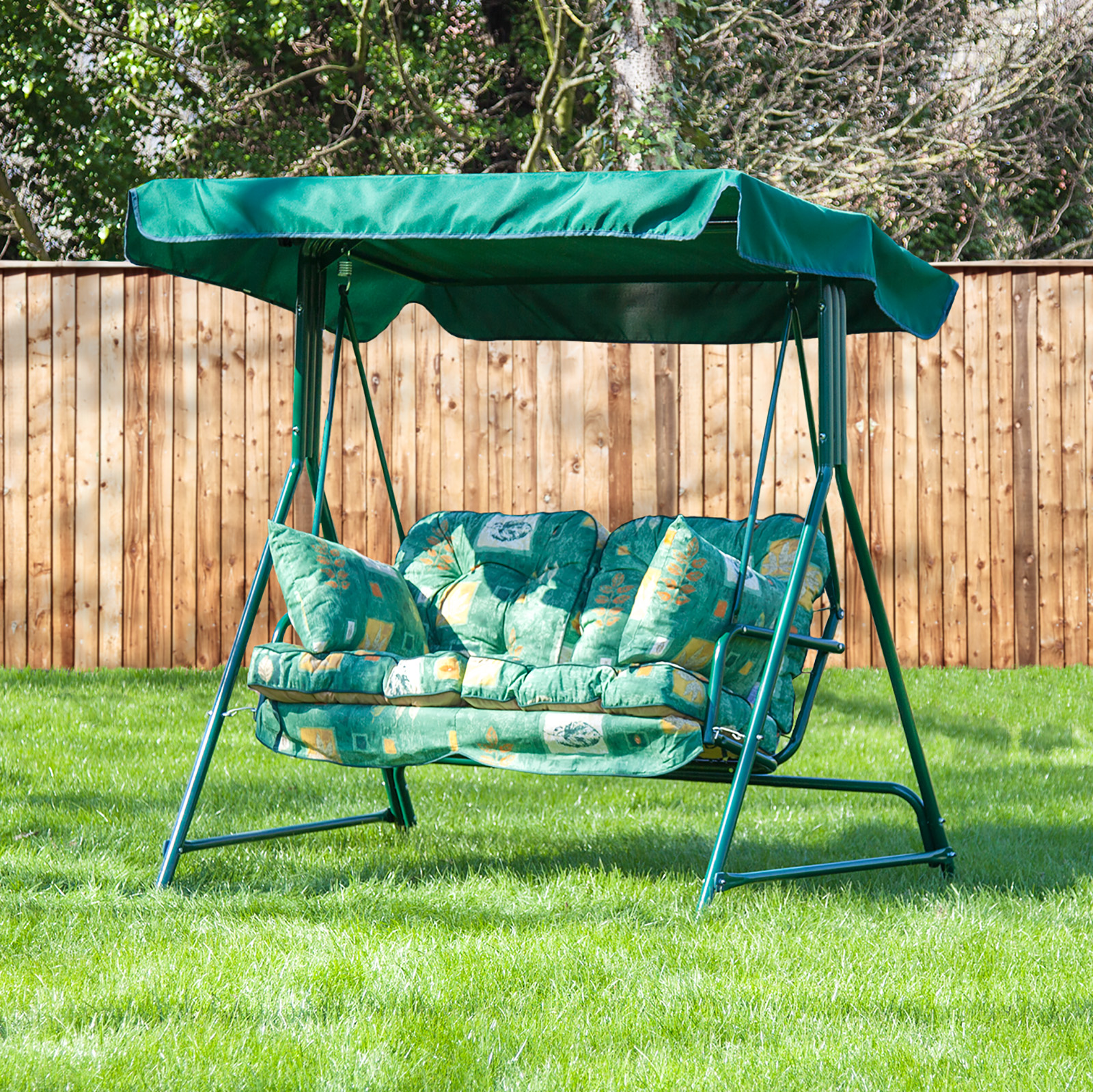 Alfresia Luxury Garden Swing Seat Cushions (2 Seater) | eBay