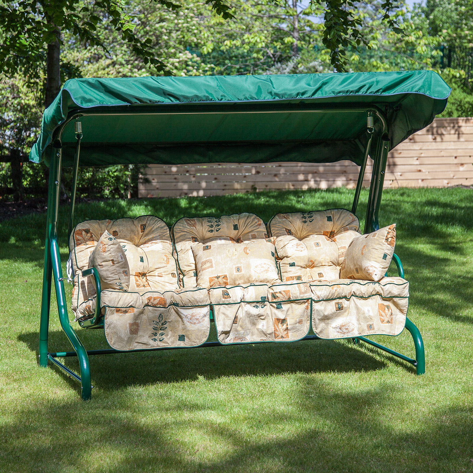 Alfresia Classic Garden Swing Seat Cushions (3 Seater)   eBay